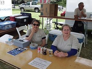 Allison & Jane manning beer sales
