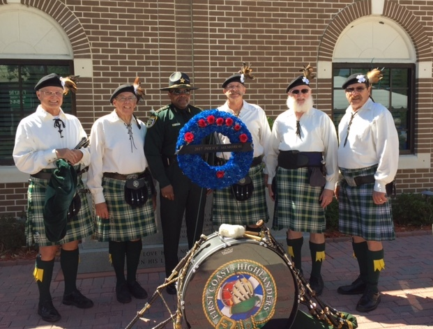 Sheriff Daniels with FCH at Mem 2017