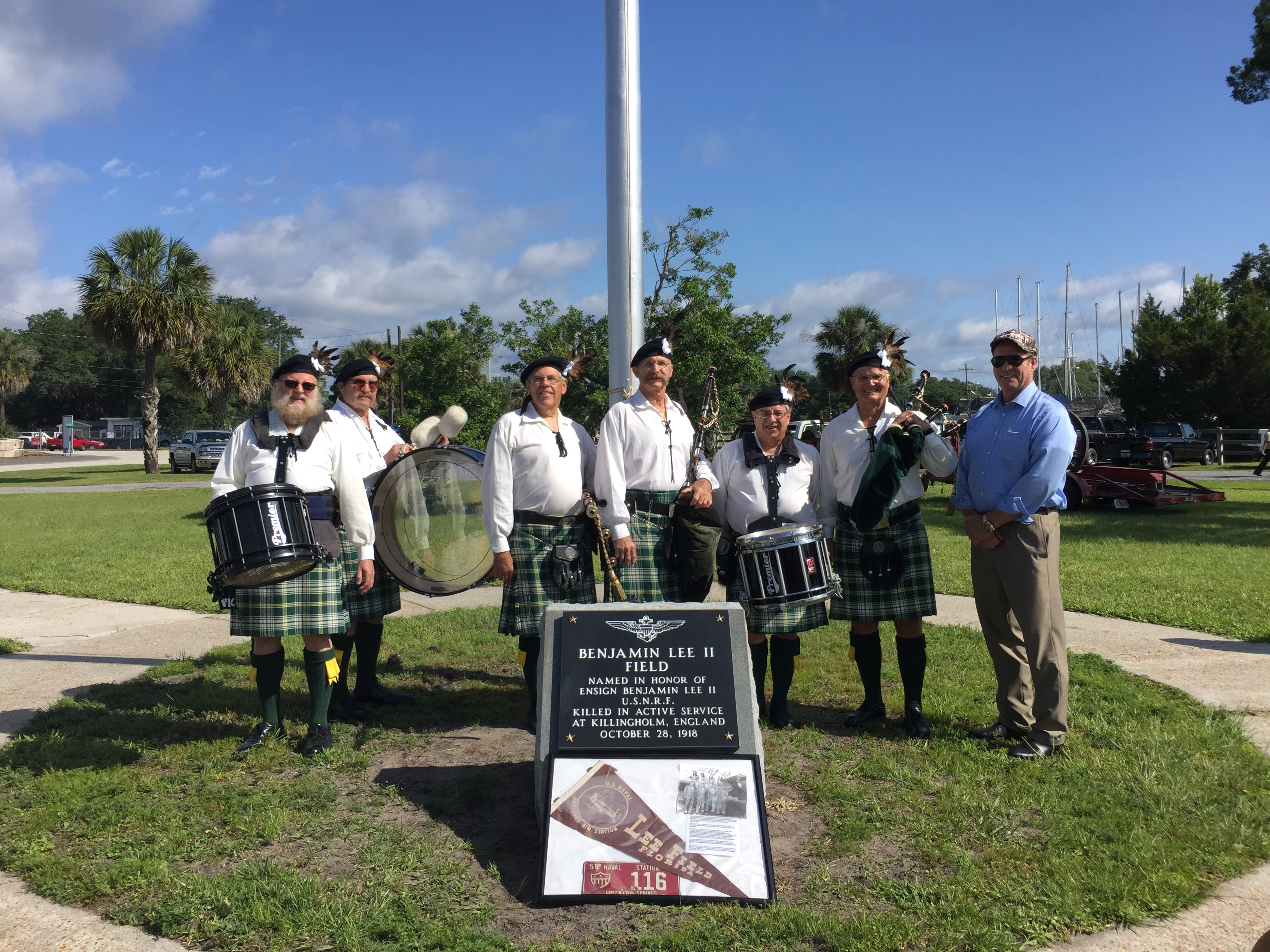 Re-dedication of Lee Airfield<br> in Green Cove Springs, FL