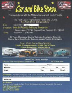 Car Show Flyer 2020